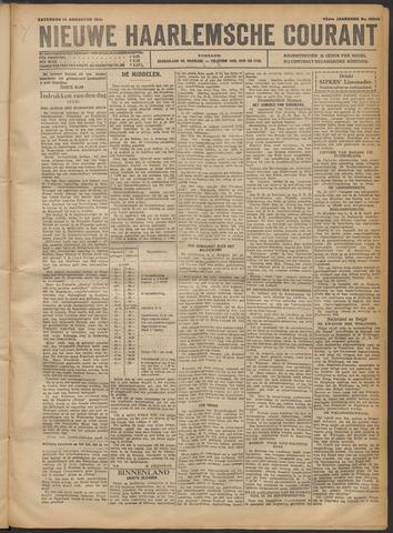 Nieuwe Haarlemsche Courant 1920-08-14