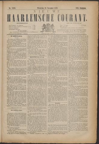 Nieuwe Haarlemsche Courant 1888-11-21