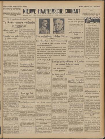 Nieuwe Haarlemsche Courant 1940-10-25