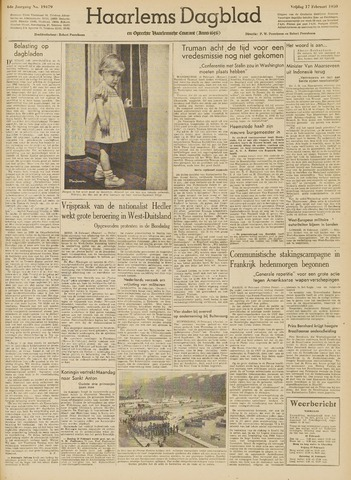 Haarlem's Dagblad 1950-02-17