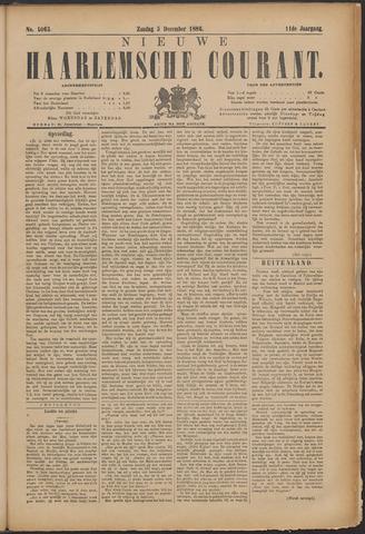 Nieuwe Haarlemsche Courant 1886-12-05