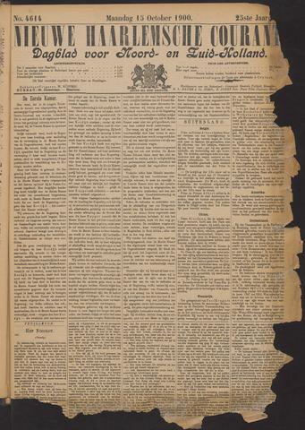 Nieuwe Haarlemsche Courant 1900-10-15