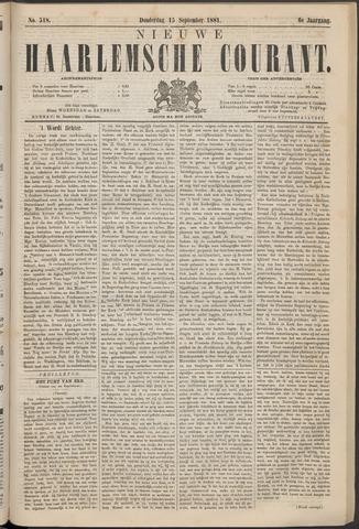 Nieuwe Haarlemsche Courant 1881-09-15