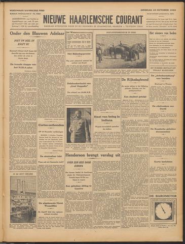 Nieuwe Haarlemsche Courant 1933-10-10
