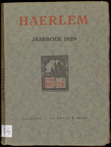 Jaarverslagen en Jaarboeken Vereniging Haerlem 1929
