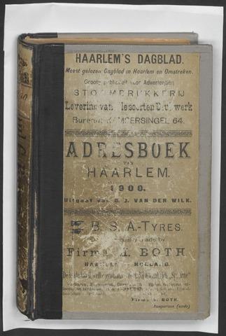 Adresboeken Haarlem 1900