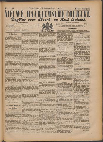 Nieuwe Haarlemsche Courant 1903-12-23