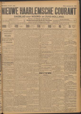 Nieuwe Haarlemsche Courant 1910-09-19