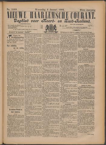 Nieuwe Haarlemsche Courant 1904-01-06