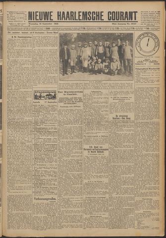 Nieuwe Haarlemsche Courant 1925-09-16