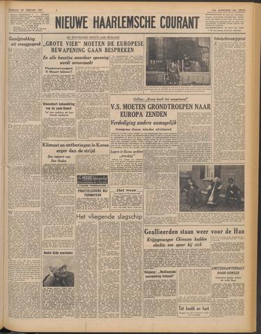 Nieuwe Haarlemsche Courant 1951-02-20