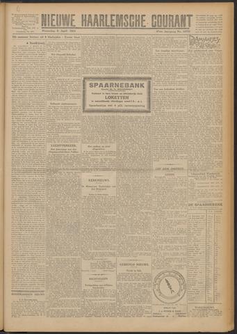 Nieuwe Haarlemsche Courant 1924-04-09