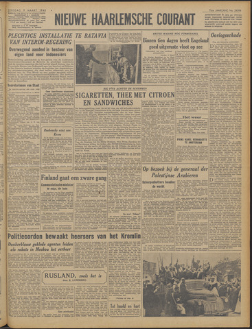 Nieuwe Haarlemsche Courant 1948-03-09