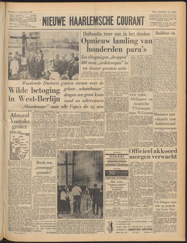 Nieuwe Haarlemsche Courant 1962-08-14