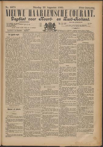 Nieuwe Haarlemsche Courant 1905-08-22