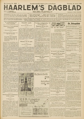 Haarlem's Dagblad 1935-01-23