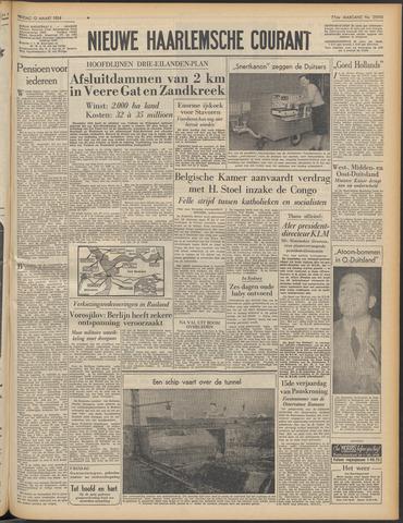 Nieuwe Haarlemsche Courant 1954-03-12