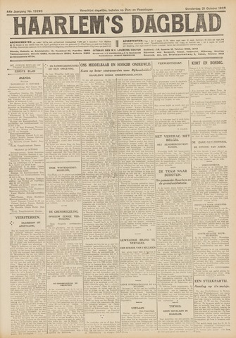 Haarlem's Dagblad 1926-10-21