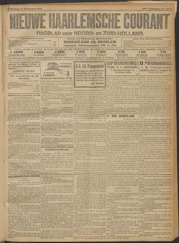 Nieuwe Haarlemsche Courant 1916-02-12