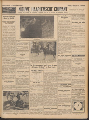 Nieuwe Haarlemsche Courant 1938-08-23