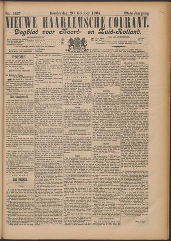Nieuwe Haarlemsche Courant 1904-10-20