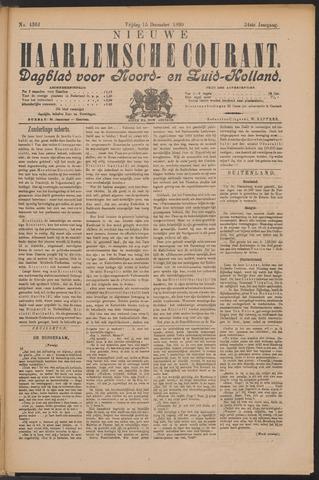 Nieuwe Haarlemsche Courant 1899-12-15