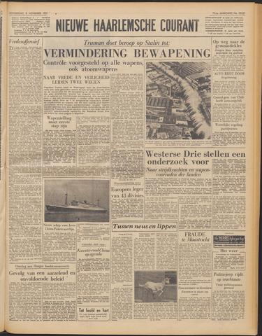 Nieuwe Haarlemsche Courant 1951-11-08