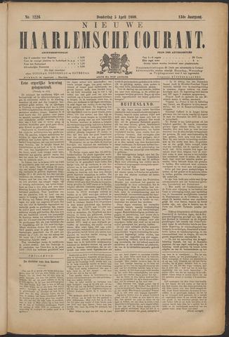 Nieuwe Haarlemsche Courant 1888-04-05