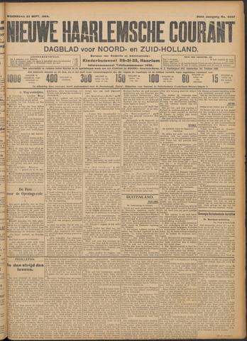 Nieuwe Haarlemsche Courant 1909-09-22