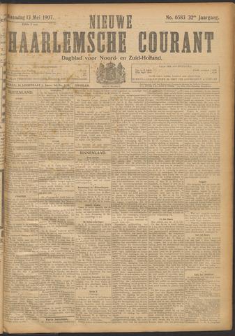 Nieuwe Haarlemsche Courant 1907-05-13
