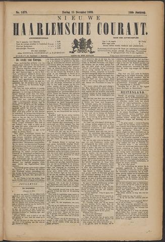 Nieuwe Haarlemsche Courant 1889-12-15