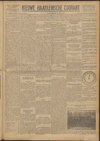 Nieuwe Haarlemsche Courant 1928-05-10