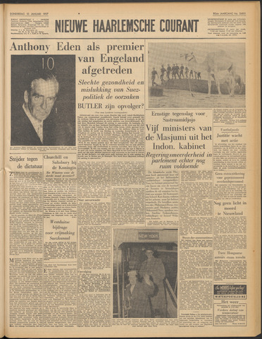 Nieuwe Haarlemsche Courant 1957-01-10