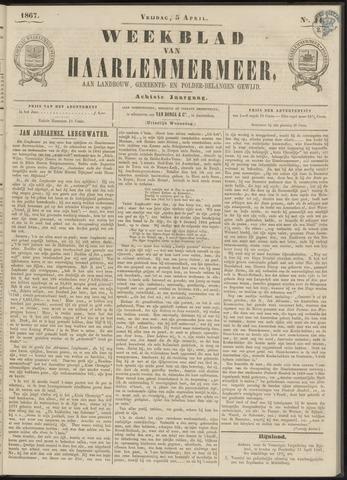 Weekblad van Haarlemmermeer 1867-04-05