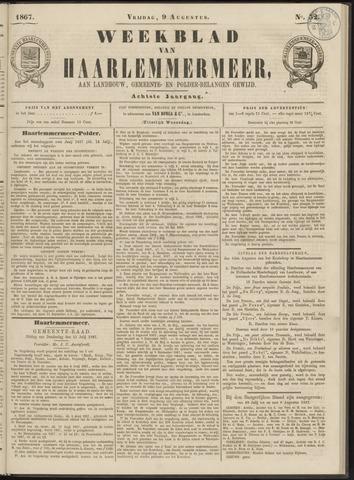Weekblad van Haarlemmermeer 1867-08-09