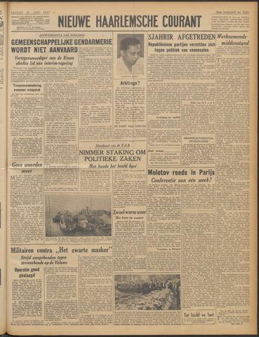 Nieuwe Haarlemsche Courant 1947-06-27
