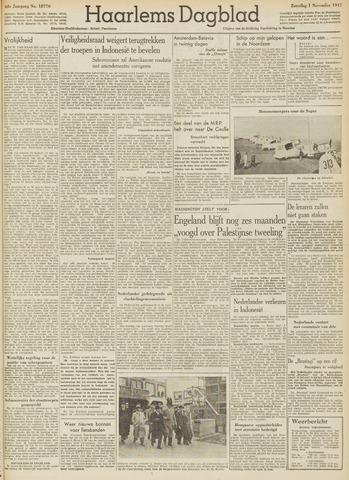 Haarlem's Dagblad 1947-11-01