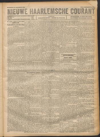 Nieuwe Haarlemsche Courant 1920-11-24