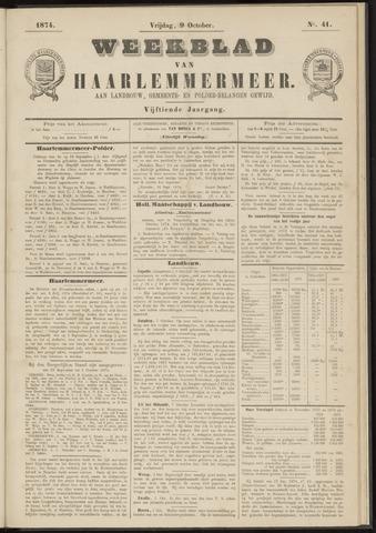 Weekblad van Haarlemmermeer 1874-10-09