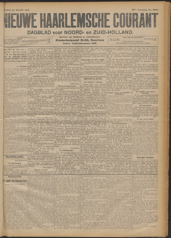 Nieuwe Haarlemsche Courant 1908-03-20