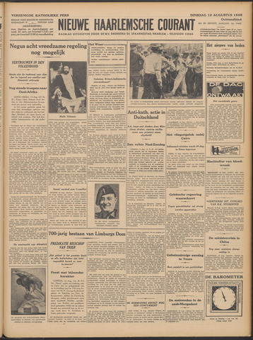 Nieuwe Haarlemsche Courant 1935-08-13