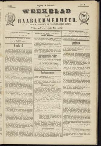 Weekblad van Haarlemmermeer 1884-02-08