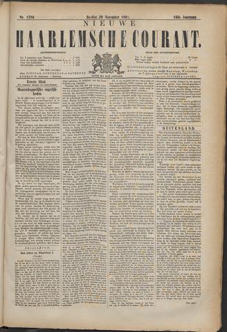 Nieuwe Haarlemsche Courant 1891-11-29