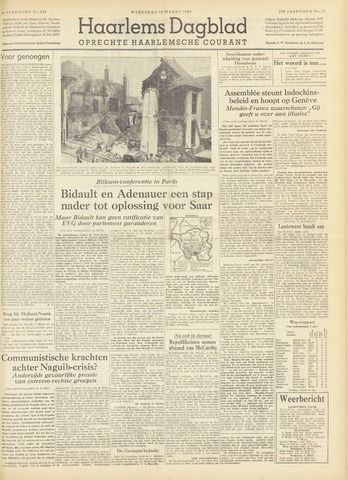 Haarlem's Dagblad 1954-03-10