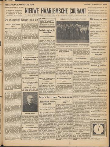 Nieuwe Haarlemsche Courant 1932-08-26