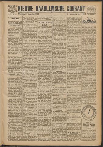 Nieuwe Haarlemsche Courant 1922-08-21