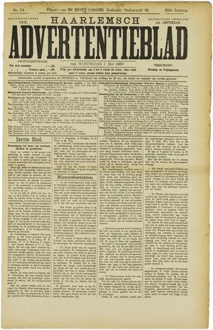 Haarlemsch Advertentieblad 1889-05-01