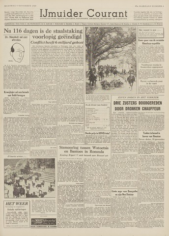 IJmuider Courant 1959-11-09