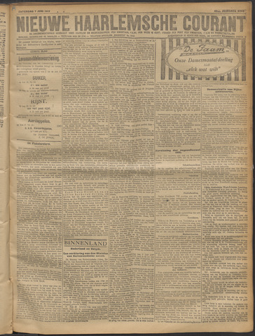 Nieuwe Haarlemsche Courant 1919-06-07