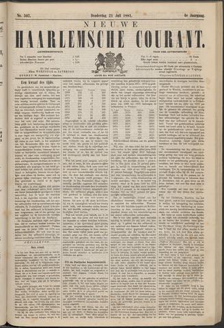 Nieuwe Haarlemsche Courant 1881-07-21